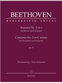 Ludwig Van Beethoven: Concerto No.3 In C Minor Op.37 For Piano - 2 Piano Reduction