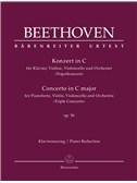 Ludwig Van Beethoven: Concerto For Piano, Violin And Violoncello In C Op.56 (Triple Concerto) (Urtext) - Piano Reduction