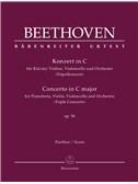 """Ludwig van Beethoven: Concerto for Pianoforte, Violin, Violoncello and Orchestra In C Op.56 """"Triple Concerto"""""""