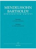 Felix Mendelssohn Bartholdy: Sonaten