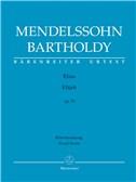 Felix Mendelssohn: Elijah Op.70 - German/English Vocal Score (Barenreiter Urtext). Choral Sheet Music