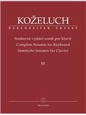 Leopold Kozeluh: Complete Sonatas For Keyboard III