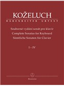 L. Kozeluch: Complete Sonatas For Keyboard Solo Volumes 1-4
