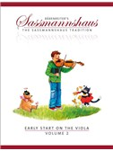 The Sassmannshaus Tradition: Early Start On The Viola - Volume 2. Sheet Music
