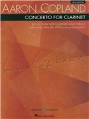 Aaron Copland: Clarinet Concerto (Clarinet And Piano)