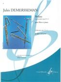 Jules-Auguste Edouard Demersseman: 6 Petites Pièces Op.2, No.2: Boléro (Flute and Piano)