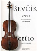 Sevcik Cello Studies: 40 Variations