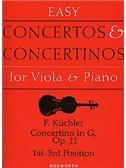 Ferdinand Kuchler: Concertino in G Op.11 (Viola/Piano)