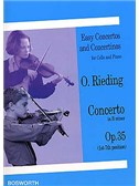 O. Rieding: Concerto In B Minor Op.35 For Cello and Piano