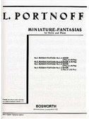 Leo Portnoff: Russian Fantasia No.2 In D Minor For Violin And Piano
