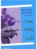 Friderich Seitz: Concerto In D Op.7 (Violin/Piano)