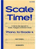 Turnbull: Scale Time! Grade 4 Piano