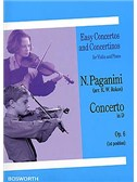 Niccolo Paganini: Concerto in D Op.6 (1st Position)