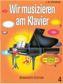 John W. Schaum: Wir Musizieren Am Klavier Bd.4
