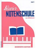 Klaviernotenschule Heft 1 (Vorbereitungsstufe)
