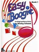 Wesley Schaum: Easy Boogie Book 1 (German/English Edition)