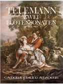 Telemann; Two Sonatas for Flute and Continuo from Essercizii Musici