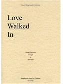 George Gershwin: Love Walked In (String Quartet) - Score