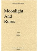Edwin Lemare: Moonlight And Roses (String Quartet) - Score