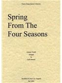 Antonio Vivaldi: Spring (The Four Seasons) - String Quartet Score