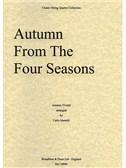 Antonio Vivaldi: Autumn From The Four Seasons (String Quartet) - Score