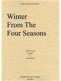 Antonio Vivaldi: Winter (The Four Seasons) - String Quartet Score