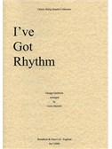 George Gershwin: I Got Rhythm (String Quartet) - Score
