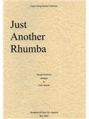 George Gershwin: Just Another Rhumba (String Quartet) - Score