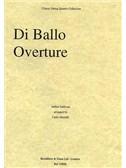 Arthur Sullivan: Di Ballo Overture (String Quartet) - Score