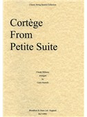 Claude Debussy: CortŠge from Petite Suite (String Quartet) - Parts