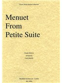 Claude Debussy: Menuet From Petite Suite (String Quartet) - Parts