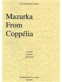 Leo Delibes: Mazurka From Copp'lia (String Quartet) - Score