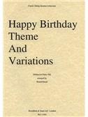 Pattie Hill: Happy Birthday Theme And Variations (String Quartet) - Parts