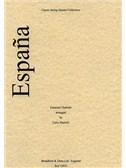 Emmanuel Chabrier: Espa¤a (String Quartet) - Score