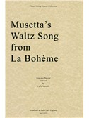 Giacomo Puccini: Musetta's Waltz Song from La Bohème - String Quartet (Parts)