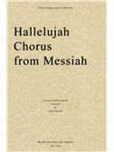 G.F. Handel: Hallelujah Chorus (Messiah) - String Quartet Score