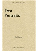 Paul Lewis: Two Portraits (Cello Or Bassoon & Harp Or Piano)