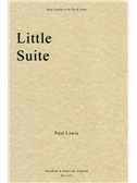 Paul Lewis: Little Suite (Bass Clarinet In B Flat/Piano)