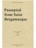 Claude Debussy: Passepied (Suite Bergamasque) - String Quartet Score