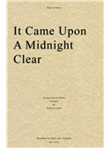 Richard Storrs Willis: It Came Upon A Midnight Clear (Flute/Piano)