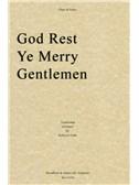 God Rest Ye Merry Gentlemen (Flute/Piano)