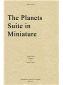 Gustav Holst: The Planets Suite In Miniature (Score/Parts)
