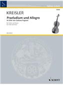 Kreisler: Praeludium and Allegro