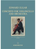 Edward Elgar: Concerto For Violoncello and Orchestra In E minor Op.85 (Barenreiter Facsimile)