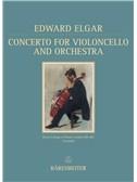 Edward Elgar: Concerto For Violoncello and Orchestra In E minor Op.85 (Barenreiter Facsimile)