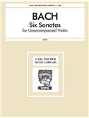J.S. Bach: Six Sonatas For Unaccompanied Violin (Ed. Leopold Auer). Sheet Music