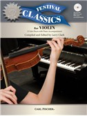 Ed. Larry Clark: Festival Classics - Violin (Book/CD). Sheet Music, CD