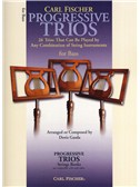 Progressive Trios - 26 Trios For Any Combination Of String Instruments (Bass)