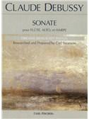 Claude Debussy: Sonate Pour Flute, Alto, Et Harpe