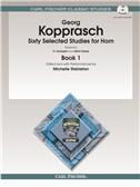 Georg Kopprasch: Sixty Selected Studies For Horn - Book 1/CD